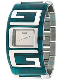 GUESS - W12055L2 - Montre Femme - Quartz Analogique - Bracelet en Acier - Vert