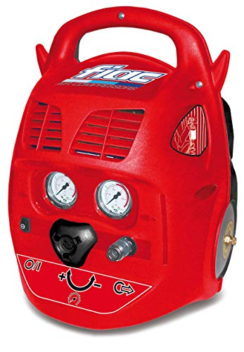 Compressore d\'aria portatile con pratica maniglia Fiac Batair 6 Lt 1,1 Kw di pot