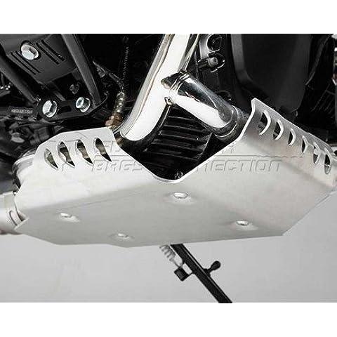 Protezione motore argento. BMW R NineT 14(-).