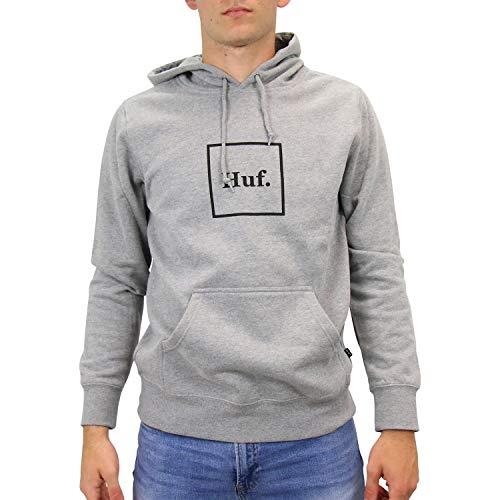 HUF PF00098 GYHTR Box Logo Hoodie Grau