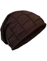 Amazon.it  cappello lana donna - Marrone   Berretti in maglia   Cappelli e  cappellini  Abbigliamento 68c8ab40bcc7
