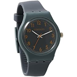 Lorenzo Women's | Grey Silicone Band Watch | LZ05