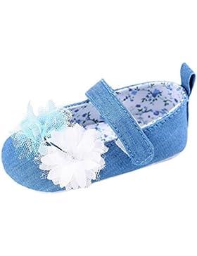 OverDose Baby Säugling Kinder Mädchen Segeltuch Weiche Sole Krippe Kleinkind Neugeborene Schuhe