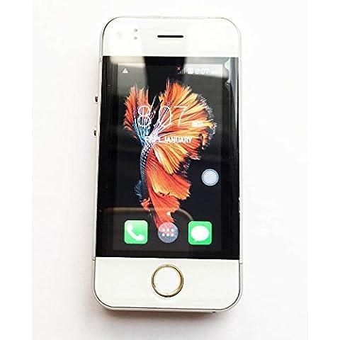 hipipooo Mini rest-pocket phonebaby Smartphone sbloccato Android 5.1WiFi 2,45