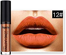 LHWY Impermeable LíQuido Mate Lip Gloss Labial De Larga Duración 12#