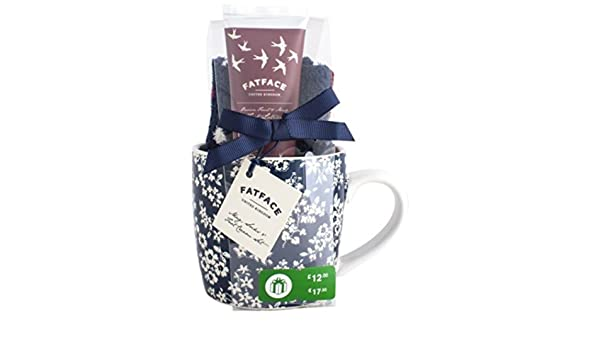 Fat Face Ladies Mug, Socks and Hand Cream set: Amazon.co.uk