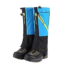 Nicololfle Wandern Gamaschen Beinschutz Abdeckung Boot Schnee Leggings für Frauen Männer Damen Leichte wasserdichte Atmungsaktive Durable Walking Outdoor Research