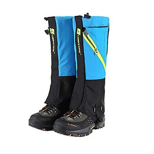 Nicololfle Wandern Gamaschen Beinschutz Abdeckung Boot Schnee Leggings für Frauen Männer Damen Leichte Wasserdichte Atmungsaktive Durable Walking Outdoor Research - Boot-männer Wasserdichte