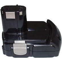 PowerSmart–Batería de ion de litio de 18V 2000mAh batería para HITACHI C, CJ, CR, DH, DS, DV, G, RB, UB, WH, WR Serien 327730, 327731, BCL 1815