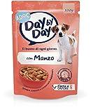 Adoc Day By Day Manzo per cani adulti, confezione da 24 pezzi
