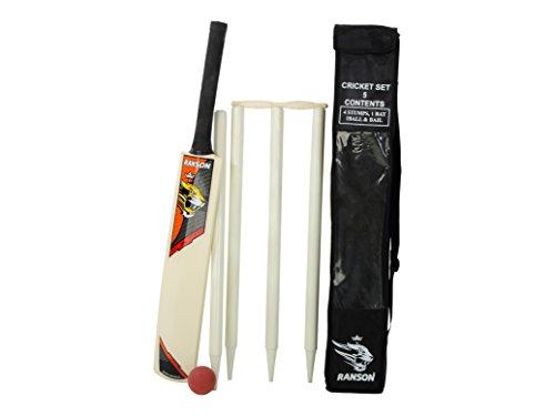 Ranson Promo - Set da cricket, con mazza, taglia 5,