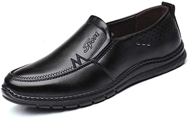 Business Oxford da Uomo Casual Comodo Low Top Simple Pure Coloree Slip On Formal scarpe Scarpe da Cricket | Clienti In Primo Luogo  | Sig/Sig Ra Scarpa