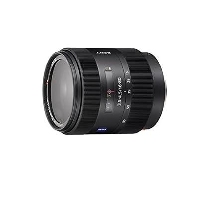 Sony SAL1680Z - Objetivo para Sony (distancia focal 16-80mm, apertura f/3-29, diámetro: 62mm) negro