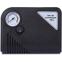 Portátil Inflador De Neumáticos, HCL Mini 150PSI 12V DC