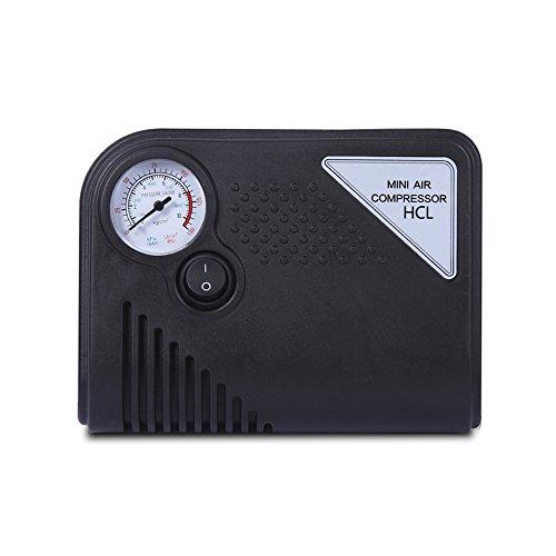 Auto-Luftpumpe, Mini 150 PSI 12 V DC Air Kompressor Pumpe für Fahrzeuge, Lkws, Fahrräder, Basketball und aufblasbares Objekte