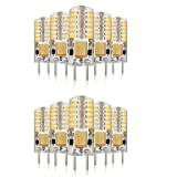 ZMW 10PCS G4 48LED SMD3014 140-160LM AC110V/220V Warm White/White/Natural White Decorative / Waterproof LED Bi-pin Lights , 110v