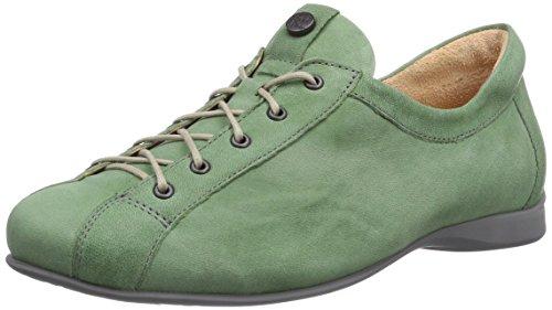 Think ITHS, Scarpe Derby con lacci donna Verde (Grün (GREEN/KOMBI 59))