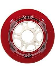 Hyper Rollen für Inlineskates XTR - Ruedas para patines en línea, color multicolor, talla DE: 90
