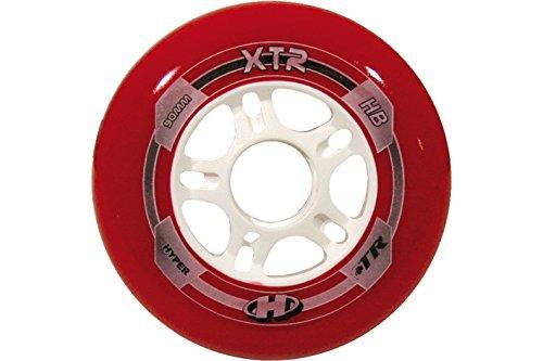 Hyper roues pour rollers xTR rouge/blanc 90, 72151