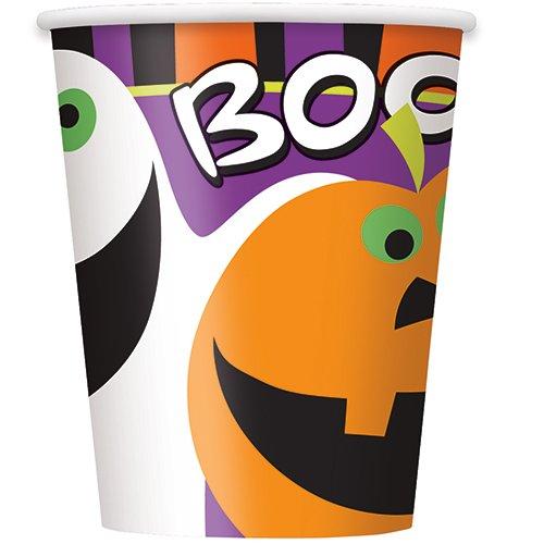8 gobelets Halloween 25cl