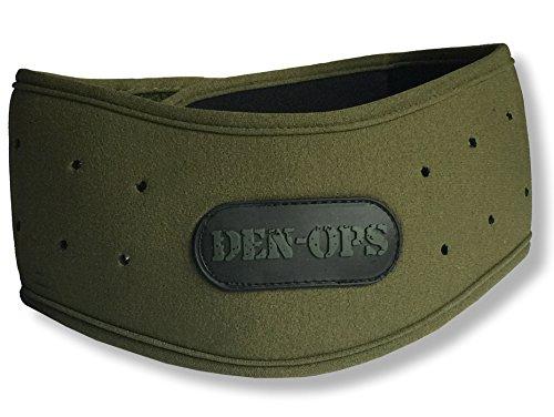 Deniable-Ops - Nackenschutz für Paintball, Softair, 6 mm, Neopren, olivgrün, Einheitsgröße
