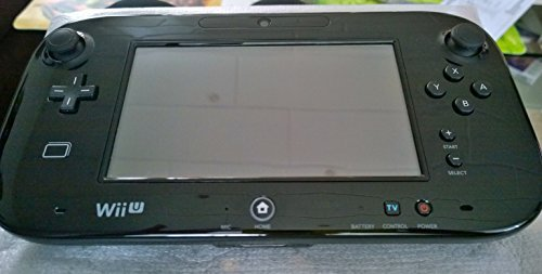 Original Nintendo Wii U Gamepad Controller schwarz ohne Konsole (Nintendo Wii U Konsole Schwarz)
