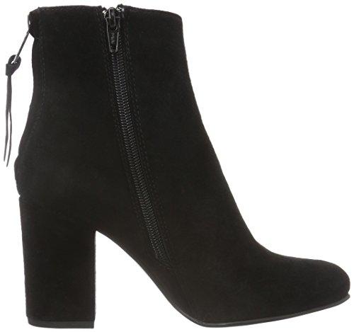 Spm Bendle Ankle Boot, Bottes mi-hauteur avec doublure chaude femme Noir - Noir
