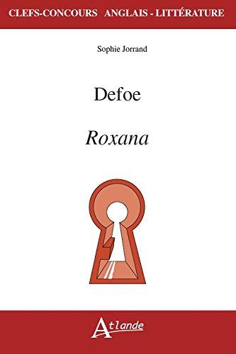 Defoe, Roxana