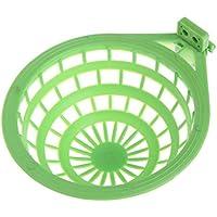 chenpaif Nido de Ave Plástico Hueco Colgante Jaula Huevos Herramienta de incubación Pan Finch Loro Verde Canario