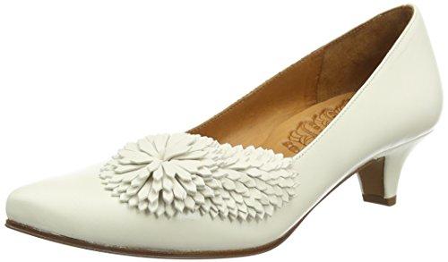 Chie Mihara Bri-alivio, Chaussures à talons - Avant du pieds couvert femme Blanc - Ivoire (alma leche)