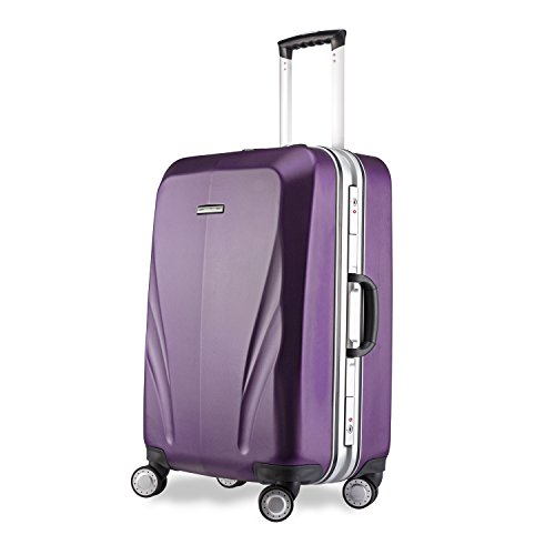 Unitravel Gepäck Spinner TSA Tragetasche leicht Trolley Rollkoffer Handgepäck Reisekoffer