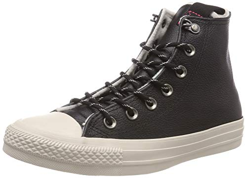 Converse Women's Chuck Taylor All Star Hi-top Trainers, (Black Driftwood 001), 7 Uk