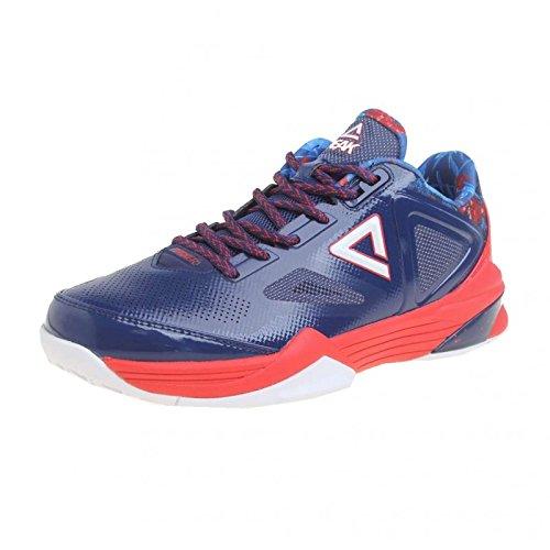 Chaussures PEAK TP III Base Bleu/Rouge