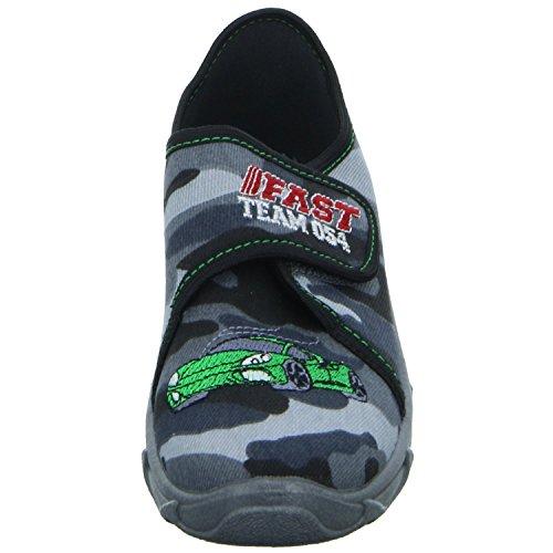Kaltfutter Robert175 Sneakers Grau grau Hausschuh Jungen w8161xq