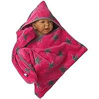 star fleece baby wrap stern schlafsack pucktuch swaddle