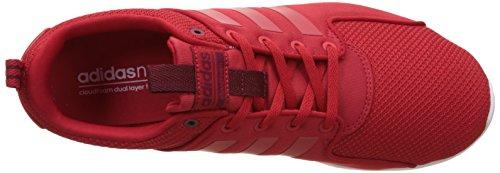adidas Cloudfoam Lite Racer, Scarpe da Ginnastica Uomo Rosso (Escarl/Escarl/Buruni)