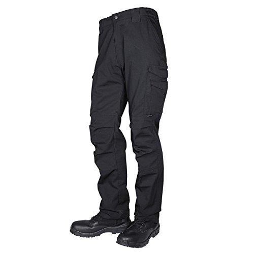 7 Tactical Shorts (Tru-Spec Herren Pts, 24-7 Blk Guardian Tac P/c R/s, W:34 L:30 Hosen, schwarz, W: 34