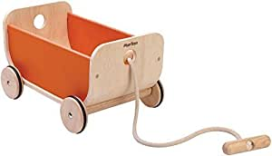 PlanToys 8614 Wagon Pull Toy Ride On by Plan Toys