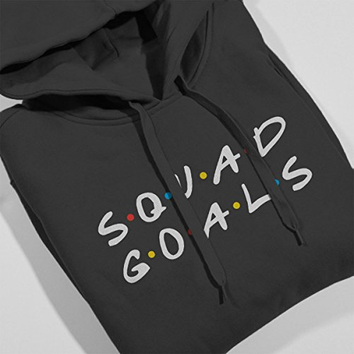 Friends Squad Goals Women's Hooded Sweatshirt Anthracite