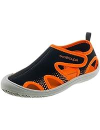 AquaWave Zapatos acuáticos Infantiles para Niños y Niñas - con Cierre de Bur - Protección Ideal para pies EN el Mar y la Playa - Trune