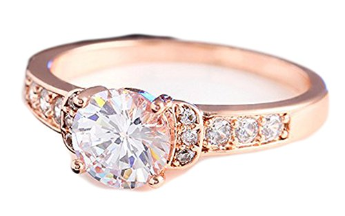 SaySure - Wedding Ring Cubic Zirconia Ring (SIZE : 8)