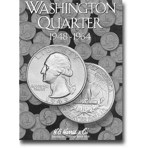 Harris Coin Folder - Washington Quarter #2 Folder 1948-1964 - #8HRS2689 by H.E. Harris