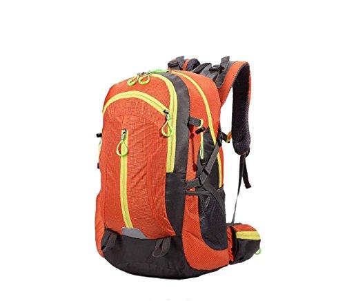 Borsa A Tracolla In Nylon Xin.S40L Borsa Da Viaggio Per L'alpinismo Borsa Da Viaggio All'aperto Zaino Militare Trekking All'aperto Campeggio Escursioni. Multicolore Black