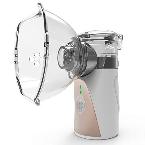 Symeas Mini máquina de nebulizador de mano Vaporizadores portátiles Humidificador compacto Pulverizador...