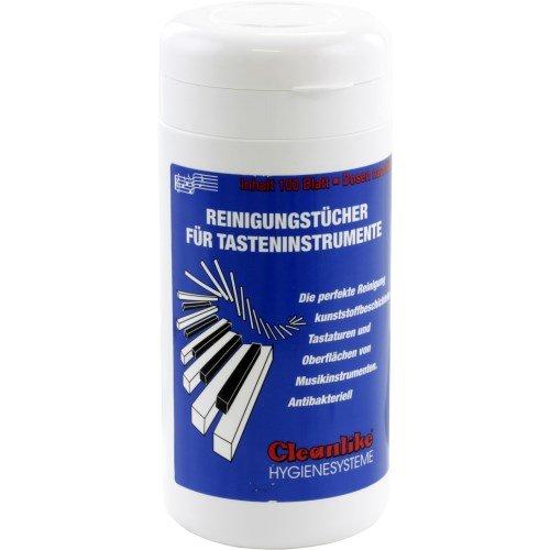 Jahn Reinigungstücher für Tasteninstrumente in Spenderdose