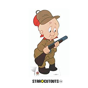 Star Cutouts sc691Elmer Fudd Looney Tunes cartón Cut out