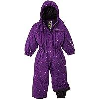 Peak Mountain Fancy/TG–Traje de esquí para, niña, color Morado - violeta, tamaño FR : 3 ans (Taille Fabricant : 3)
