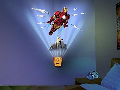 Oncle Milton Motif murs Iron Man, lumineux et sonores intérieurs ?