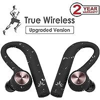 Avantree TWS109 IPX5 Sport Wasserdicht Kopfhörer Bluetooth Kabellos, TWS True Wireless In Ear Ohrhörer, Drahtlose Stereo Bluetooth 4.2 Laufen Funkkopfhörer, Wireless Dual Inear Headset mit Mikrofon