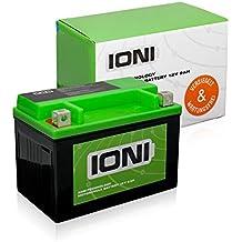Motocicleta batería 12V 9Ah AGM ioni litio (tipo de Kyoto–Similar a BS) (sellados/ácido)